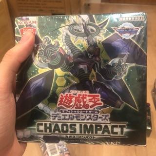 1 pack thẻ bài Yu-gi-oh Chaos Impact chính hãng