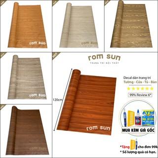 SP ĐỘC QUYỀN | Giấy dán tường giả gỗ dán phòng ngủ❣️FREESHIP❣️ Decal dán tường phòng khách,dán tủ,dán bàn,dán cửa giả gỗ