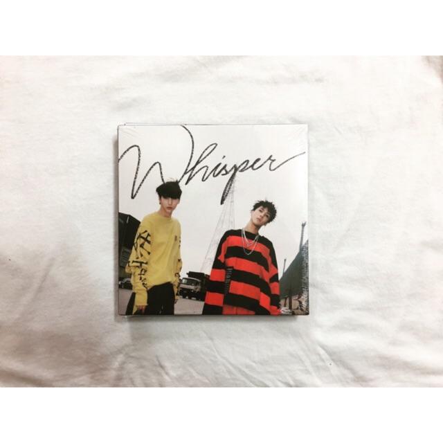 Vixx LR album Whisper nguyên seal.