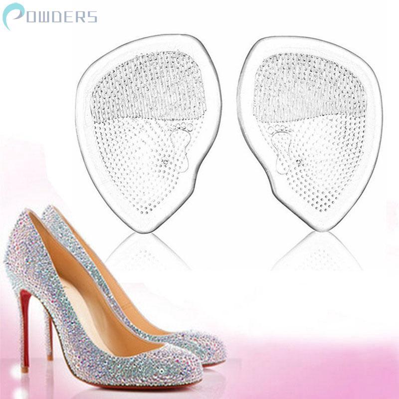 Đế lót giày cao gót trong suốt silicon chống trượt