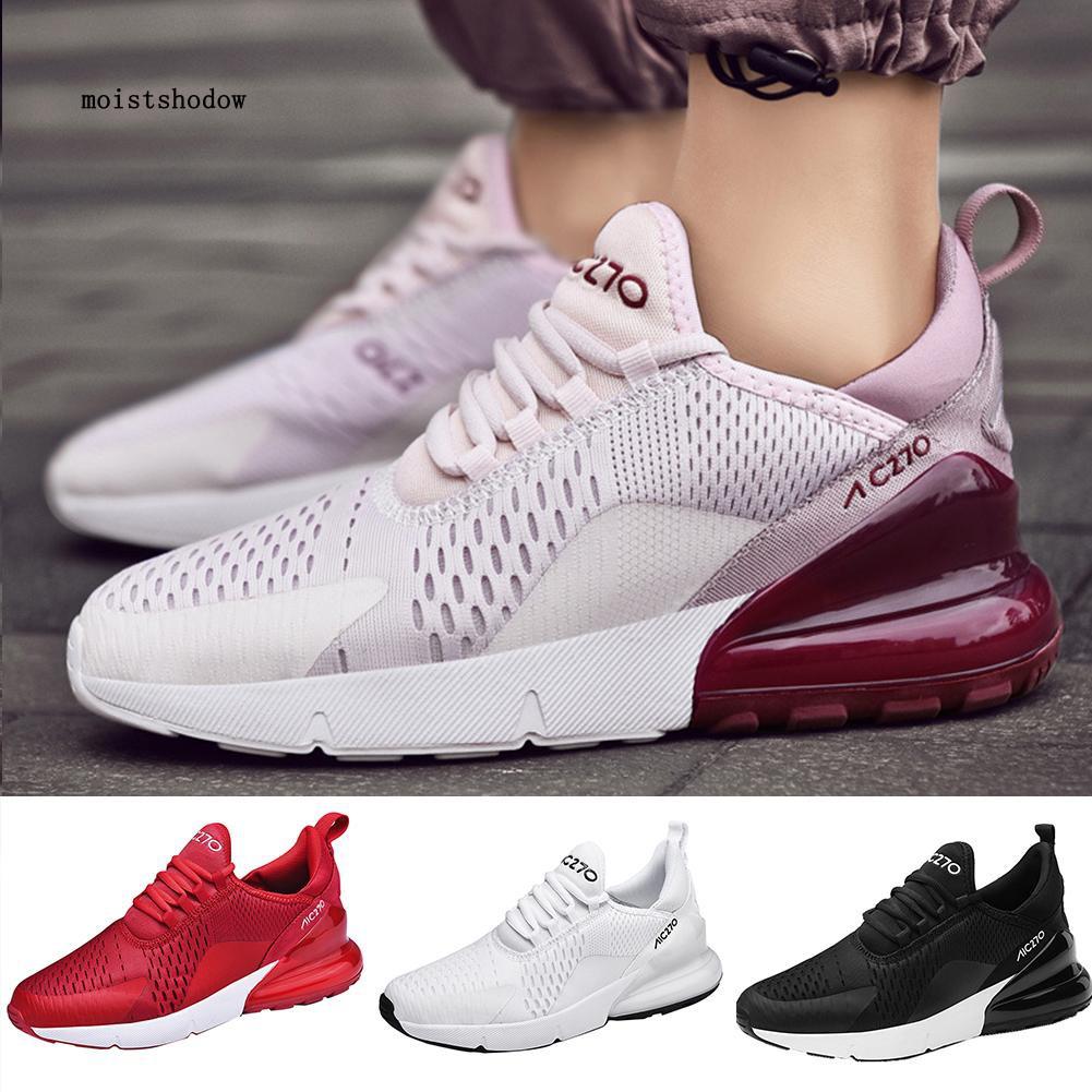 MISD Outdoor Sports Running Shoes Women Men Air Cushion Lightweight Walking Sneaker