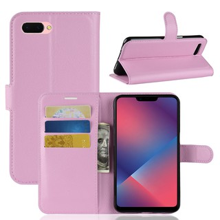 🎖OPPO A83 Leather Wallet Flip Case With Card Slot