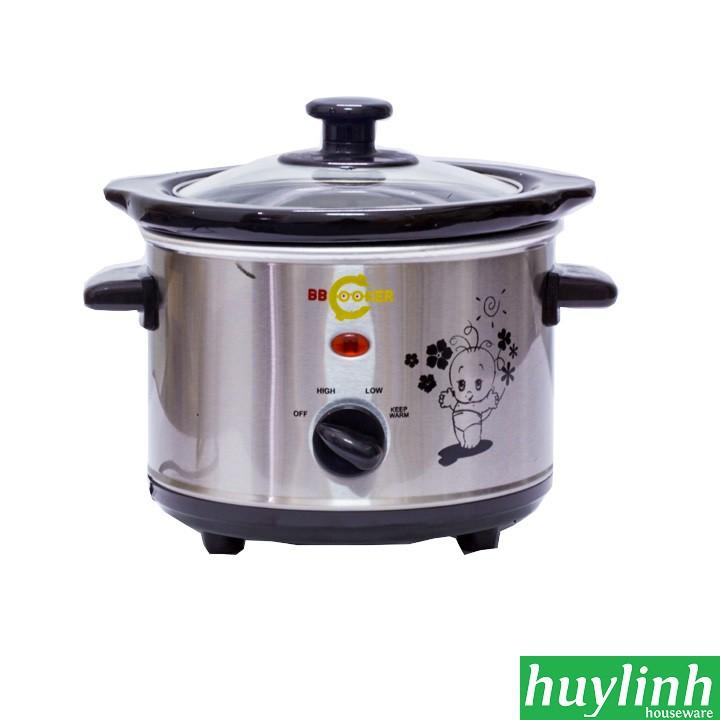 Nồi nấu cháo chậm BBcooker BS15 - Hàn Quốc - 1.5 lít
