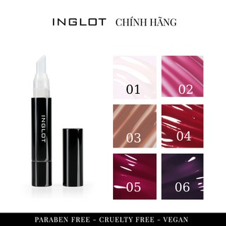 Son dưỡng Inglot High Gloss Lip Oil (4ml) thumbnail