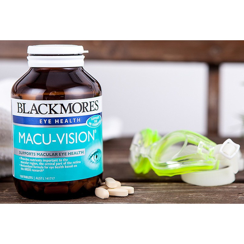 Viên uống bổ mắt Blackmores Macu-Vision 150