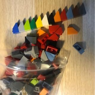 [ Gạch lẻ ] 10 viên gạch tam giác ngắn kích thước 1×1, 1×2- tương thích với LEGO