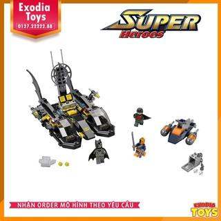 Thuyền Batman và cuộc truy đuổi DeathStroke – Lego Ideas 76034