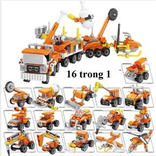 Bộ lego 16 in 1 – Mô hình xe cứu hộ 80525