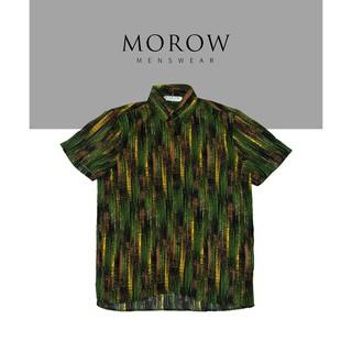Áo sơ mi nam họa tiết ngắn tay MOROW A09