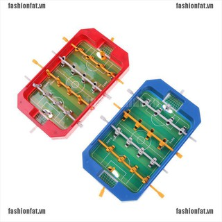 [Iron] Mini Table Top Football Board Machine Football Table Game Home Match Gift Toy [VN]