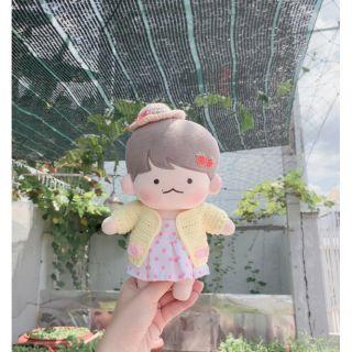 [CÓ SẴN – TẶNG OUTFIT XINH] doll EXO BaekHyun Kyunee 20cm (búp bê Hàn Quốc)