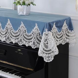 Khăn Trải Bàn Đàn Piano Phối Ren Thiết Kế Đơn Giản Hiện Đại