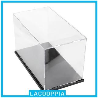[LACOOPPIA] HD Acrylic Display Case Dust-proof Show Box NO NEED GLUE 40x25x25cm