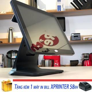 Máy tính tiền Filixpos T15 - Order tiện lợi - có màn hình phụ hiển thị cho khách tổng tiền thanh toán thumbnail