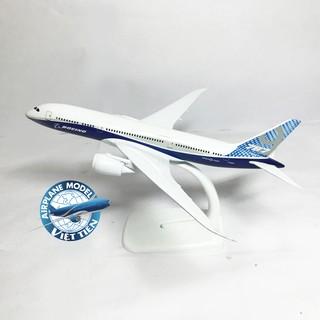 Mô hình máy bay dân dụng nguyên mẫu B787 20cm