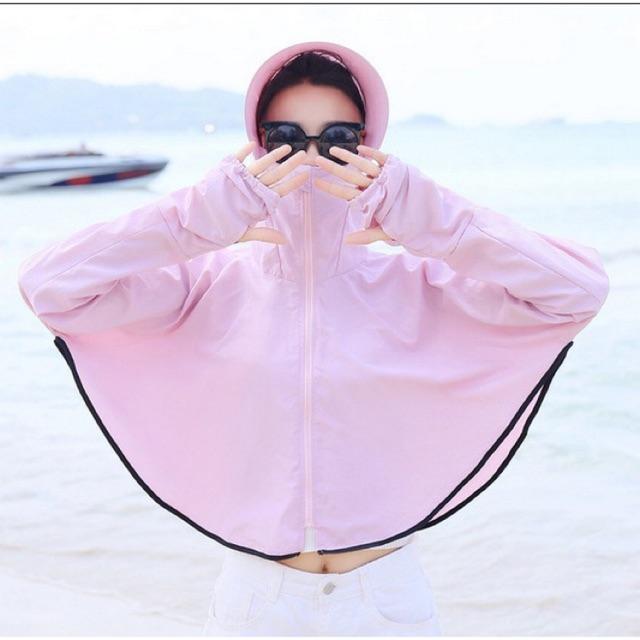 Áo khoác chống nắng đa năng kiểu dáng cánh dơi freesize cho người dưới 65kg