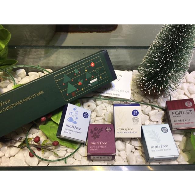 Innisfree Green Christmas Mini Kit Bar