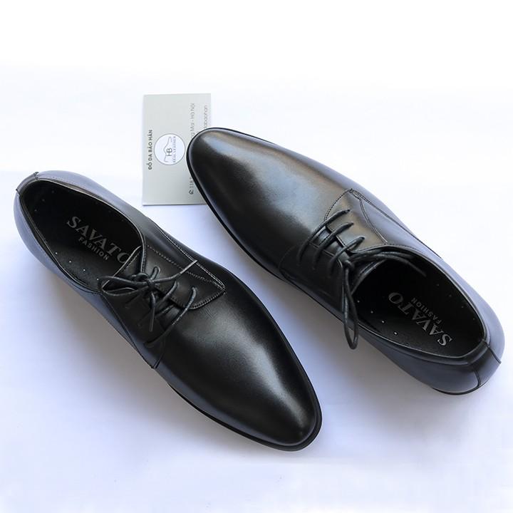 Giày Tây Nam Dây Buộc- Đế Khâu Da Mềm ( Xả Kho ) Mã CS88.