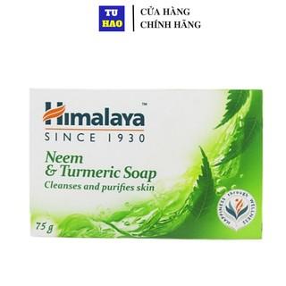 Xà phòng giảm mụn lưng Himalaya neem và nghệ tây 75g