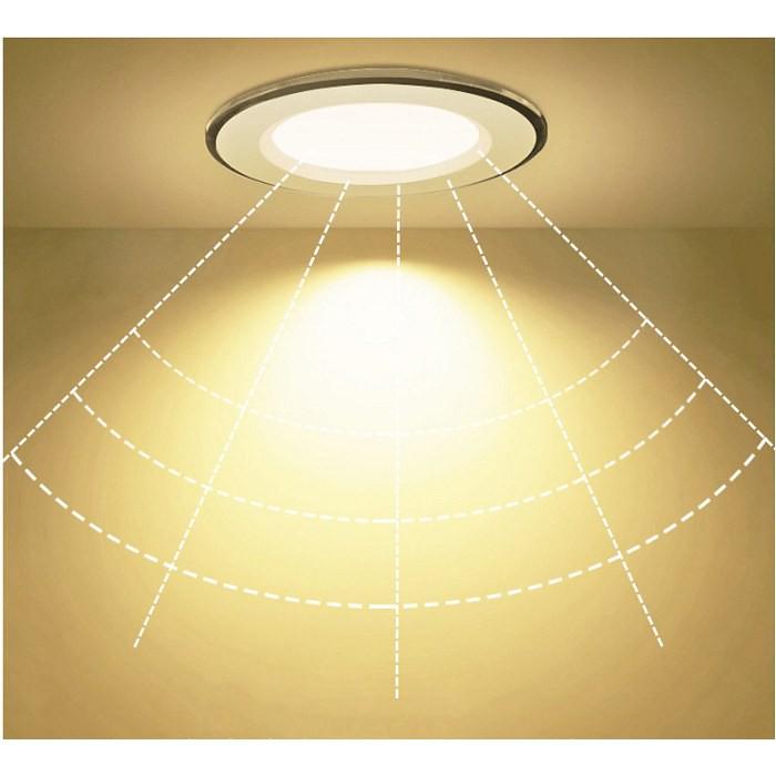Đèn Led âm trần 7w  ánh sáng vàng trung tính