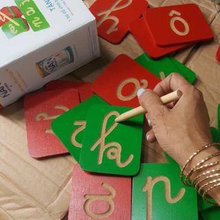 Đồ chơi Bé yêu tập viết gỗ Đức Thành