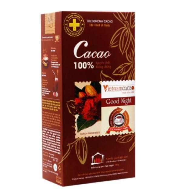 Cacao không đường nguyên chất Vietnamcacao 150g