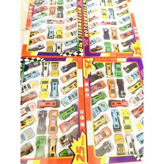 Combo 25 xe đồ chơi cho bé