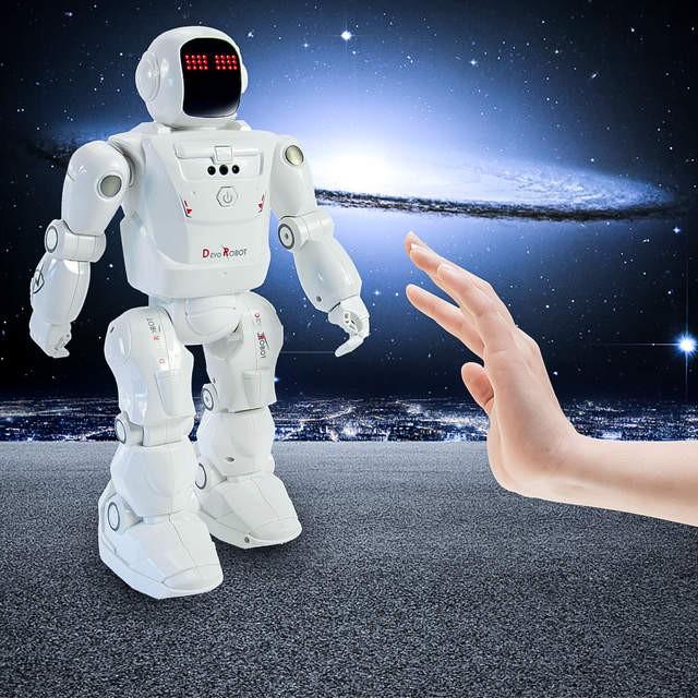 DEVO ROBOT CHÍNH HÃNG - ROBOT CÓ THỂ LẬP TRÌNH BẰNG HỒNG NGOẠI - MÓN QUÀ Ý NGHĨA CHO CÁC CON ĐAM MÊ CÔNG NGHỆ