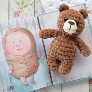 Gấu nhung mini handmade