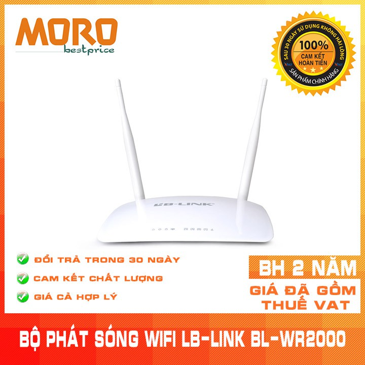 Bộ phát sóng wifi LB-LINK BL-WR2000 -