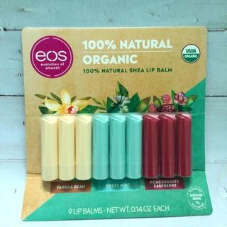 Son dưỡng EOS 100% Organic dạng thỏi ( có bill Mỹ ) thumbnail
