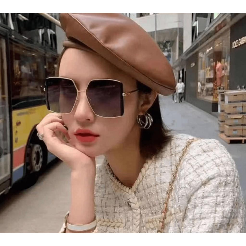 Mắt kính nữ thời trang phong cách Hàn Quốc