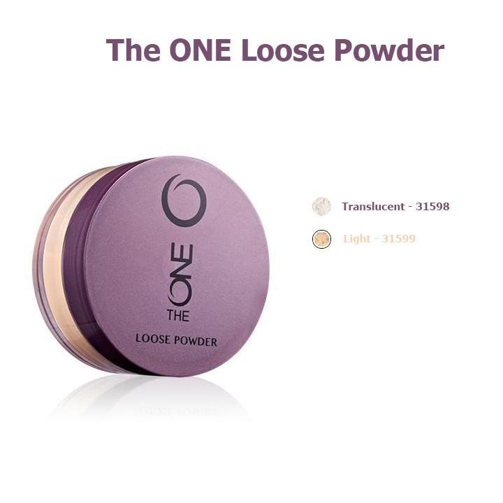 Phấn phủ dạng bột Oriflame The One Loose Powder - Oriflame 31598 / 31599