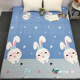 Ga chống thấm cotton giá rẻ, ga trải giường chống thấm bảo vệ đệm m6 m8 thumbnail