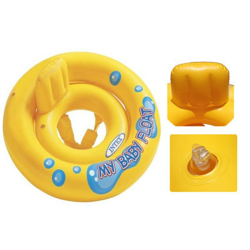 Infant Kids Swimming Seat Swimming Pool Float Ring Bad Help Water