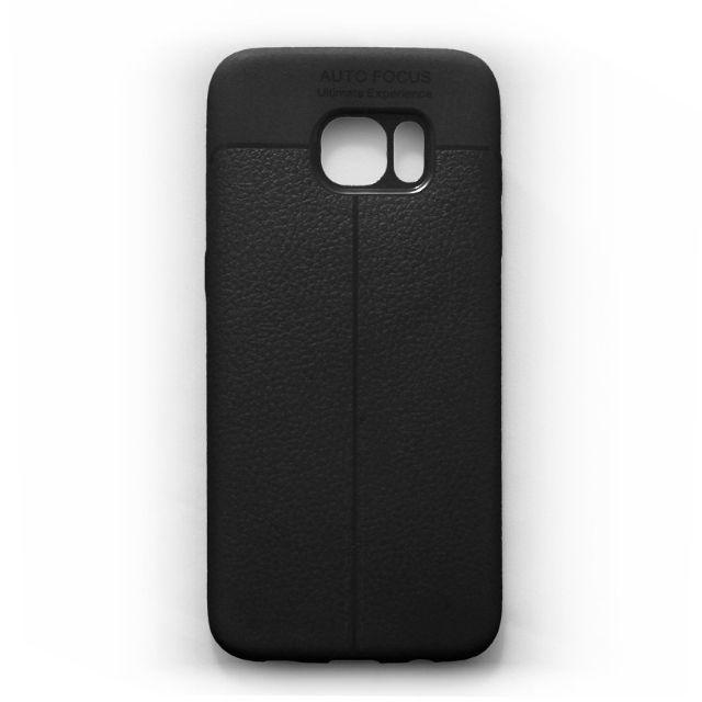 Ốp lưng dẻo Galaxy S7 Vân giả da cao cấp