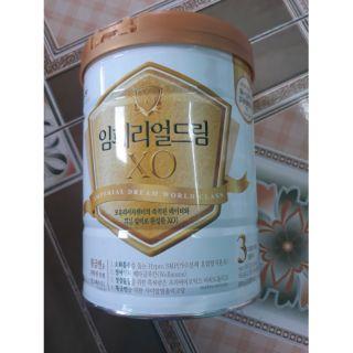 Sữa Xo xách tay Nội Địa Hàn Quốc số 3 ( 800gr)