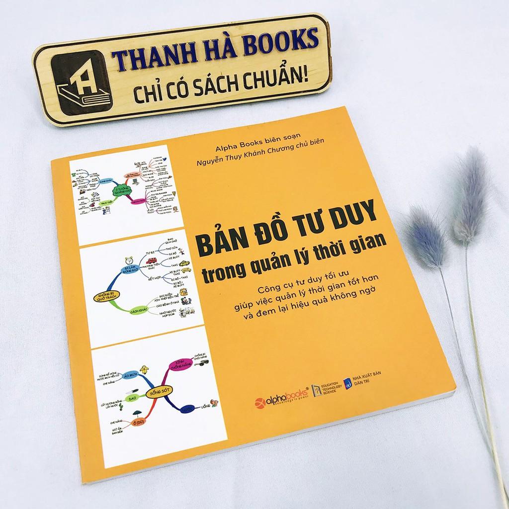 Sách - Bản Đồ Tư Duy Trong Quản Lý Thời Gian - Thanh Hà Books