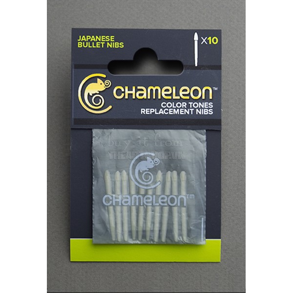Ngòi CHAMELEON - CHAMELEON Replacement Bullet Nibs – 10 pack