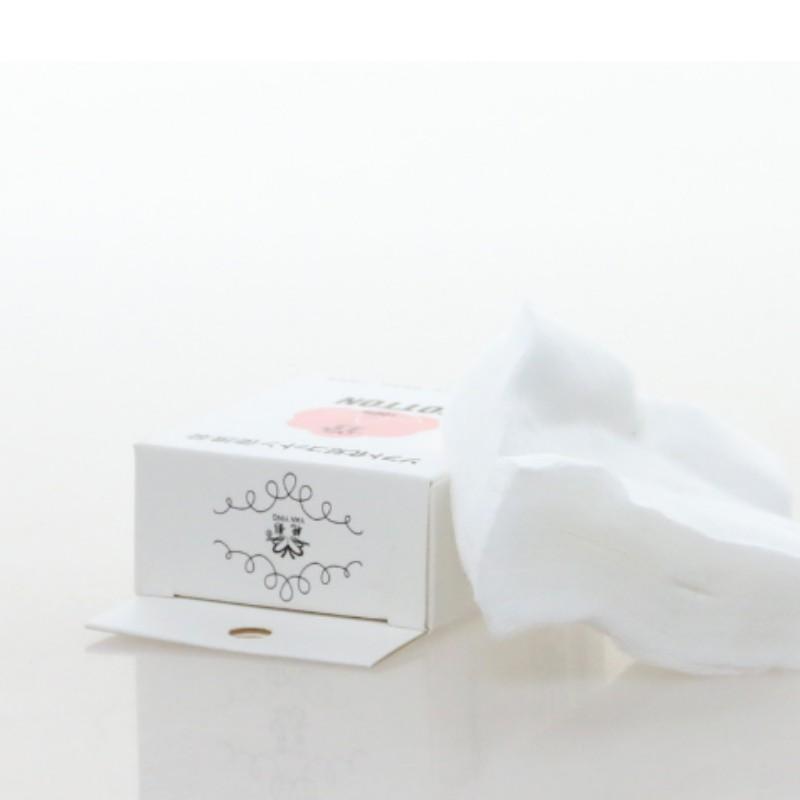 Bông Tẩy Trang cao cấp Nhật Bản 3 Lớp 100% Cotton 50 miếng