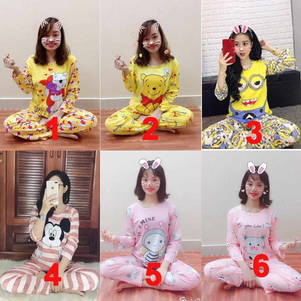 Bộ pizama thun Cute dài dài hàng quảng châu - 3358374 , 642448911 , 322_642448911 , 140000 , Bo-pizama-thun-Cute-dai-dai-hang-quang-chau-322_642448911 , shopee.vn , Bộ pizama thun Cute dài dài hàng quảng châu