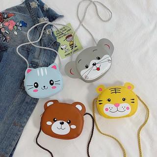 Túi đeo chéo HOẠT HÌNH dễ thương phong cách Hàn Quốc cho bé gái TX02