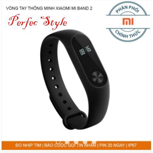 Xiaomi mi band 2 | Vòng đeo tay xiaomi miband 2 - DGW phân phối chính thức ( tặng bộ 2 dán chống xướ