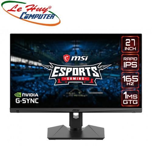 Màn hình máy tính MSI Optix MAG274QRF 27inch WQHD 165Hz