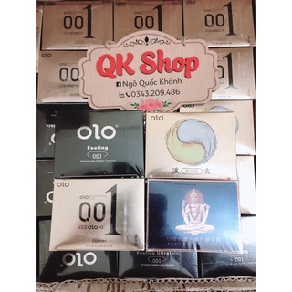 Bao cao su OLO (4 mẫu) (Shop che tên sp)