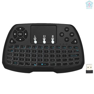 【E&V】2.4GHz Wireless Keyboard Touchpad Mouse Handheld Remote Control for Android TV BOX Smart TV PC Notebook