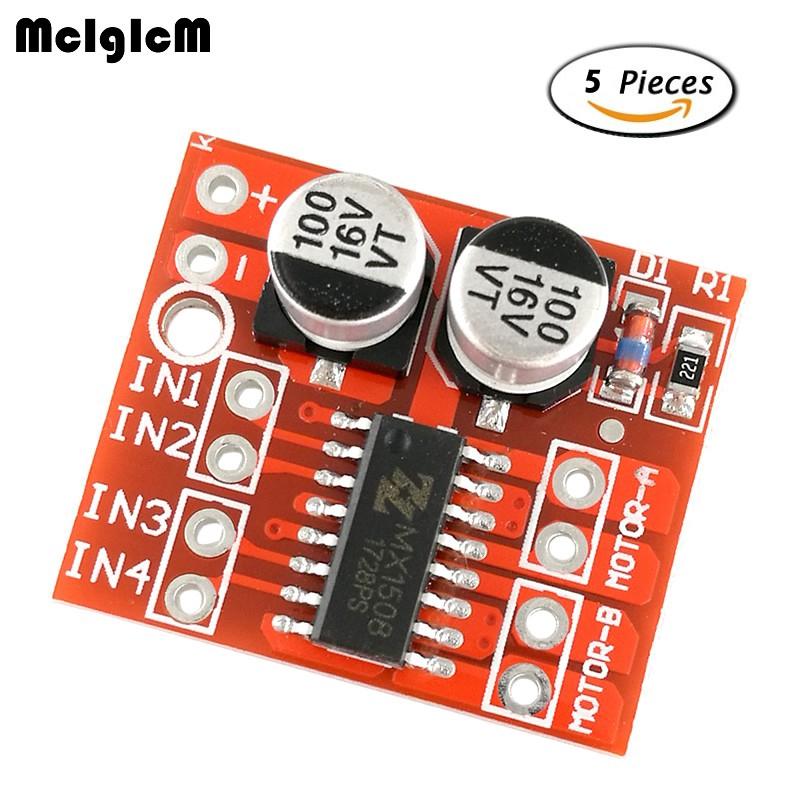 5 Mạch điều khiển động cơ mini L298N