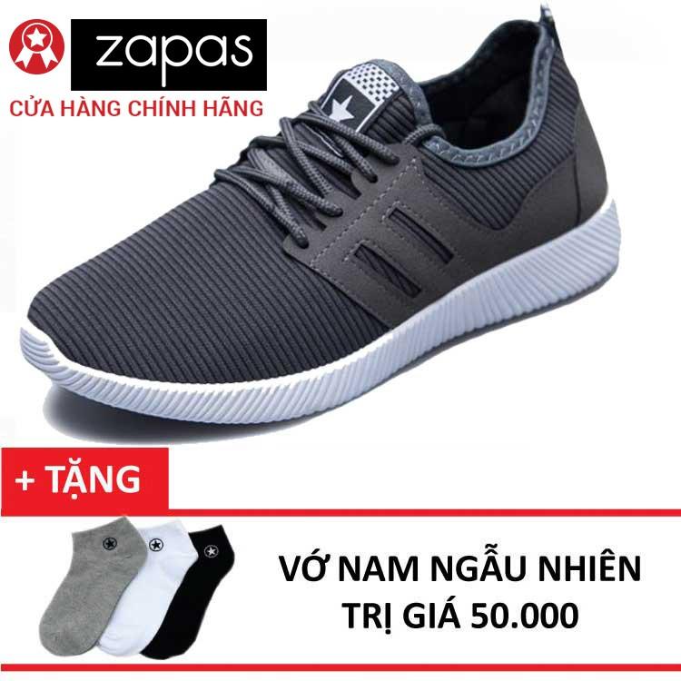Giày Sneaker Thời Trang Nam Zapas GS068 + Tặng Vớ Nam - 3011216 , 215269471 , 322_215269471 , 180000 , Giay-Sneaker-Thoi-Trang-Nam-Zapas-GS068-Tang-Vo-Nam-322_215269471 , shopee.vn , Giày Sneaker Thời Trang Nam Zapas GS068 + Tặng Vớ Nam