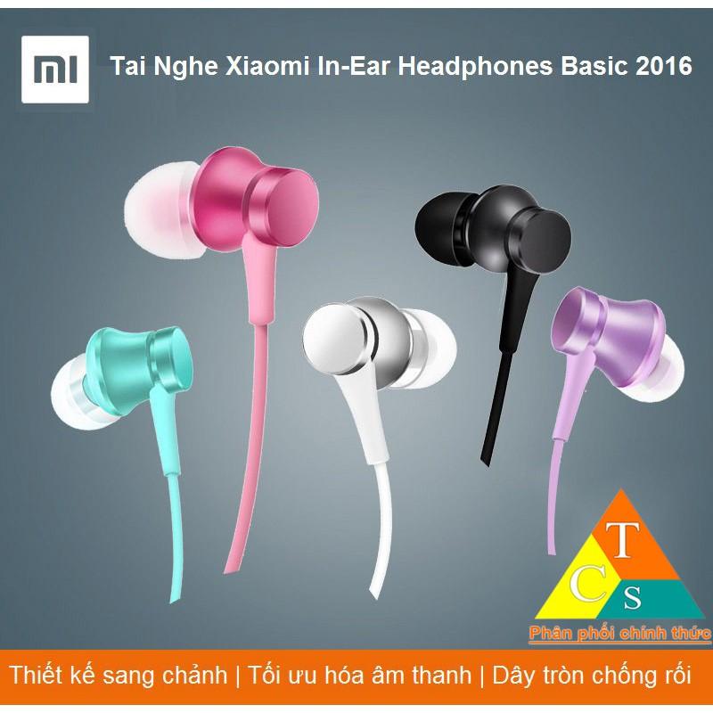 Tai Nghe Xiaomi In-Ear Headphones Basic 2018 | BH 15 Ngày