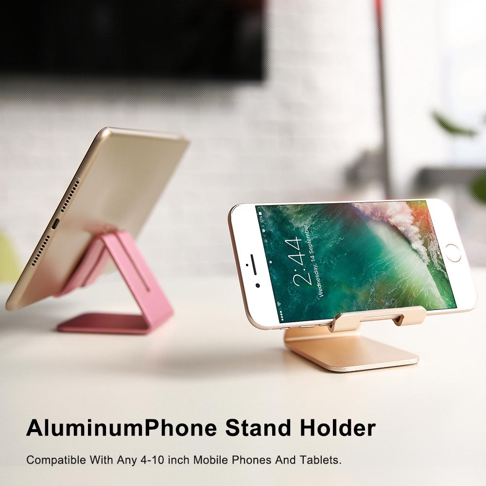 Giá đỡ điện thoại chống trượt bằng kim loại